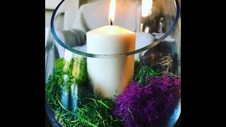 Reluctant Housewife: DIY Candle Terranium