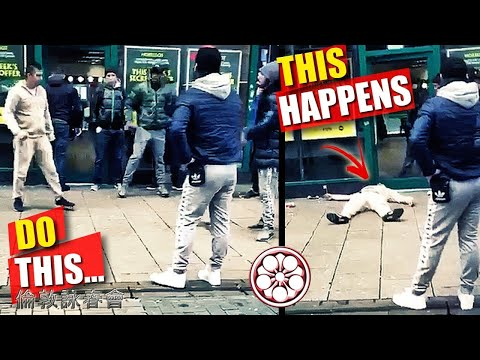 Don't DO This BEFORE Street Fights... Especially in CROWDED Places!!!