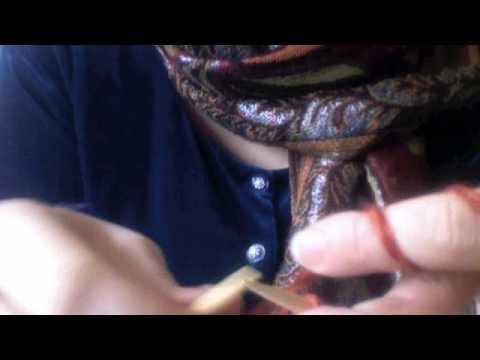 Strickanleitung für eine schöne Außenkante – knitting tutorial for a nice edging