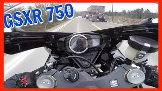 1. Brand New 2018 Suzuki GSXR 750 - First MotoVlog Ride