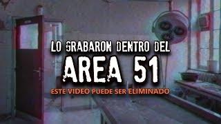Lo grabaron dentro del AREA 51 (Puede ser ELIMINADO)