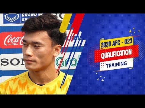 Bùi Tiến Dũng tự tin cùng đồng đội đánh bại U23 Thái Lan, giành ngôi đầu bảng K | VFF Channel - Thời lượng: 3 phút, 3 giây.