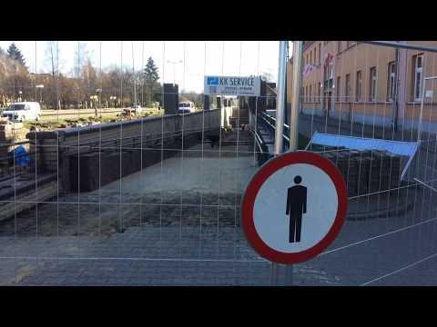 Wideo1: Remont przejścia podziemnego w rejonie SP 7 w Lesznie