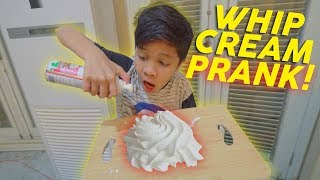 Video WHIP CREAM PRANK KE ABANG SAMPE DIA.... | Perang Prank #Part1 MP3, 3GP, MP4, WEBM, AVI, FLV Maret 2019