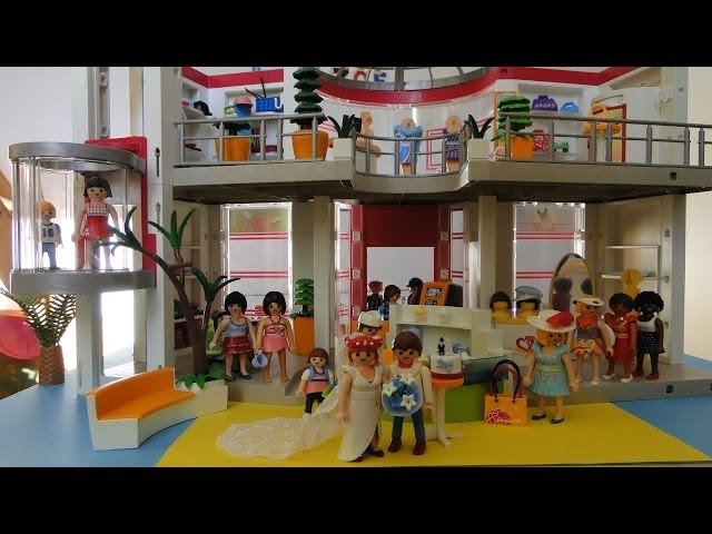 mp playmobil grand magasin  shopping