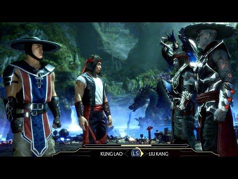 MORTAL KOMBAT 11 - Liu Kang & Kung Lao Fight Themselves From Future Cutscene (MK11 2019) PS4 Pro - Thời lượng: 3 phút và 47 giây.