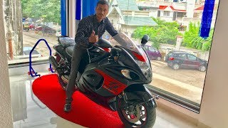 9. Suzuki Hayabusa 2018 WalkAround And TwoBrothers Exhaust Sound