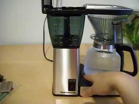 Bonavita Coffee Maker Review Part (1)  In details and How to use it.