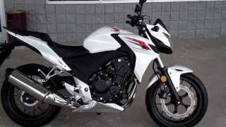 9. 2013 Honda CB500F SALE at Honda of Chattanooga TN / 2013 CB500F Naked Streetfighter Video