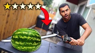 Video I Bought The WORST Rated WEAPONS On Amazon!! (1 STAR) MP3, 3GP, MP4, WEBM, AVI, FLV April 2019