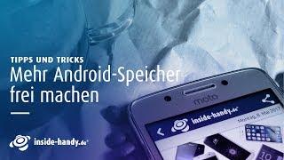 Ob 16, 32 oder 64 GB, der Speicher eines Smartphones ist eigentlich immer zu klein und demnach immer voll. Die Redaktion von inside-handy.de zeigt einfache Möglichkeiten, wieder Platz auf dem Handy zu bekommen. Am Beispiel des Samsung Galaxy S8 mit Android 7 und Alcatel Idol mit Android 6 zeigt sich, dass es ein Kinderspiel ist, einiges an Speicherplatz zu schaffen - ohne Bilder, Videos oder Musik zu löschen.Hier findet ihr uns:→  Jetzt Abonnieren: http://l.hh.de/R5mdMu→  Finde uns auf Facebook: https://www.facebook.com/insidehandy→  Folge uns auf Twitter: http://twitter.com/inside_handy→  Website: http://www.inside-handy.de/→  Google+: https://plus.google.com/+insidehandyUnser kostenloser Newsletter: http://bit.ly/MwXP0c