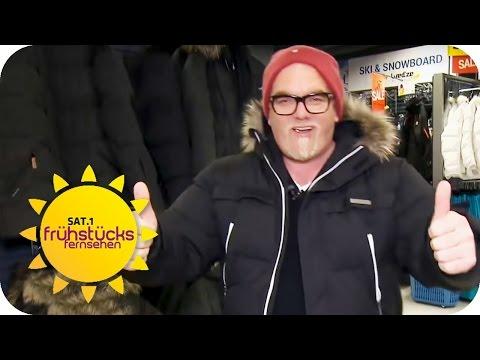Winterjacken TEST mit DJ Ötzi   SAT.1 Frühstücksfernsehen