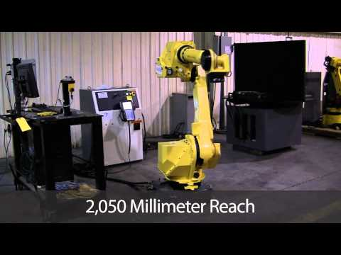 FANUC M-710iC/50 Robot Arm Testing Repeatability