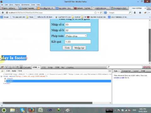 VD02 - Start ASPNet Part 2