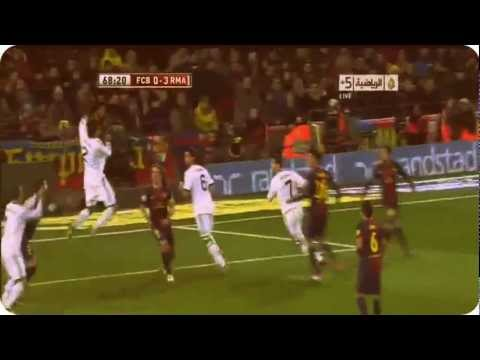 Full HD barcelona vs real madrid 1-3 goals & highlights 27/02/2013