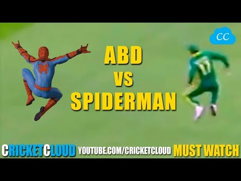 AB de Villiers CAREER BEST ACROBATIC CATCHES Like a Spiderman !!