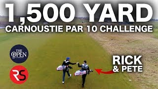 Video THE 1,500 YARD PAR 10 - CARNOUSTIE CHALLENGE MP3, 3GP, MP4, WEBM, AVI, FLV Agustus 2018