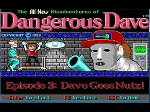 Dangerous dave Review Andrews vintage PC Corner