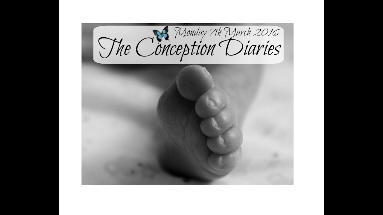 The Conception Diaries 7th March 2016