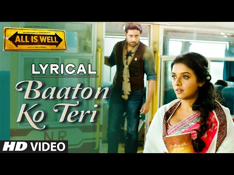 'Baaton Ko Teri' Full Song with LYRICS | Arijit Si
