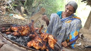 Roasted Chicken in Village Style || My Grandma's Chicken Recipe