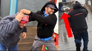 COPS CALLED!! FATHER AND SON FIGHT IN PUBLIC! ROBBIE E FAMILY ...