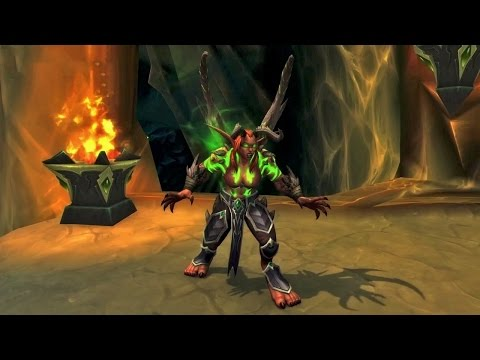 геймплей WORLD OF WARCRAFT WOW LEGION