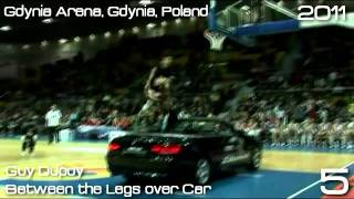 Top 10 Slam Dunks in Human History ( greatest dunks of all time)