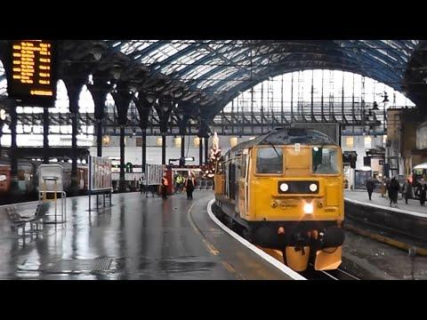 GBRf 20901 & 20905 visit Brighton Station 17th December 2014