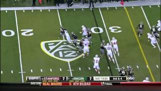 Kyle Long vs Stanford (2012)