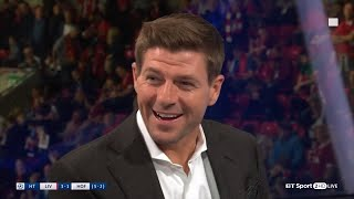 Steven Gerrard's brilliant lines as a pundit on BT Sport