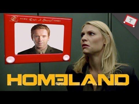 Homeland Recap - Etch A Sketch Version