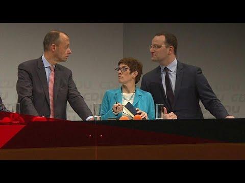 CDU: Stunde der Entscheidung - wer folgt auf Merkel?