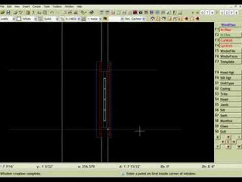 Datacad 11 tutorial - 3d Ranch House