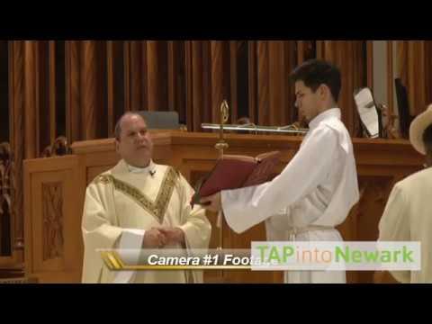 Нападение на епископа во время службы