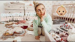 organizing every baby item i own + my fav easy vegan dinner recipe!! by Aspyn + Parker