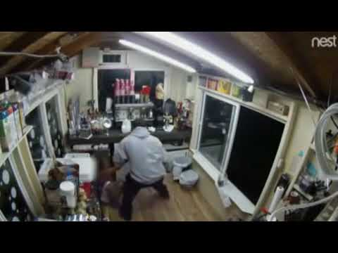 العرب اليوم - بالفيديو: شاب يقتحم مقهى ويختطف بائعة لاغتصابها