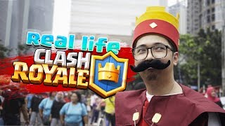 Video REAL LIFE CLASH ROYALE Wkwkwkwk MP3, 3GP, MP4, WEBM, AVI, FLV September 2018