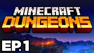 Minecraft Dungeons Ep.1 - RESCUING VILLAGERS FROM THE ILLAGERS, ARCH MAGE!!! (Gameplay / Let's Play)