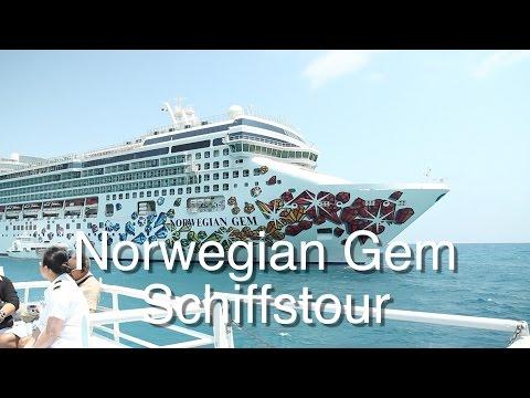 Norwegian Gem: Schiffstour und Rundgang