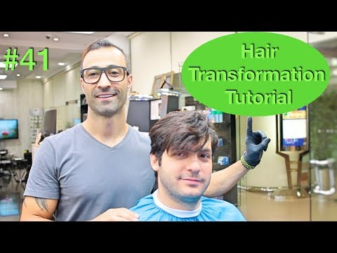 New hairstyle - NEW Haircut & Hairstyle Transformation (Hair Tutorial) Best Barber in the world 2018 U.S.A / Dubai