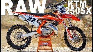 6. 2018 KTM 250SX 2 Stroke RAW - Motocross Action Magazine