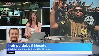 Irák po dobytí Mosulu: Irácký premiér oznámil porážku IS v zemi