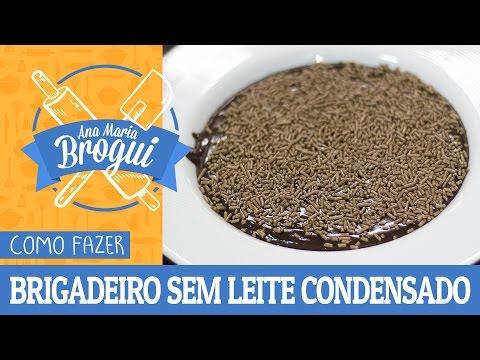 Receitas Doces - COMO FAZER BRIGADEIRO DE COLHER SEM LEITE CONDENSADO  Receitas que brilham  Ana Maria Brogui #285