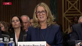 What you may have missed from Brett Kavanaugh and Christine Blasey Ford's testimony