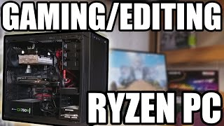 Help me out by using these links to purchase products, I receive a kickback:AMD Ryzen 7 1700X - http://amzn.to/2pk30LzGigabyte GA-AB350-Gaming - http://amzn.to/2qlOMIHG. Skill Ripjaws V Series 16GB DDR4 (2X8GB) - http://amzn.to/2oVrDuJSeagate BarraCuda 2TB HDD (Better than my setup) - http://amzn.to/2qieekUKingDian 60GB SSD - http://amzn.to/2pk78uQSapphire Radeon NITRO R9 390 8GB (Better than mine) - http://amzn.to/2qsQeYJCorsair 200R ATX Mid Tower Case - http://amzn.to/2ngtkT8Corsair VS Series 600 Watt PSU (Better than mine) - http://amzn.to/2qicaJQAmazon Associates Link for Entire Website: http://amzn.to/2433obu Ebay Associates Link for Entire Website: https://goo.gl/k0D4HpYet another real life Slash687 PC build! This is my main PC build, which I will be using to edit videos and game for the foreseeable future. I hope you all take inspiration from this build to construct Ryzen PC's of your very own.Snapchat: itsSlash687 Twitter: https://twitter.com/ItsSlash687Twitch: https://www.twitch.tv/slash687PC part prices, as well as the components used, are always subject to change, and the price stated in the video and title will not necessarily reflect the price of the Amazon/Ebay deals in the video. Donate to me on Paypal (All donations are put towards future videos, in the form of purcasing PC hardware):https://www.paypal.com/cgi-bin/webscr?cmd=_s-xclick&hosted_button_id=SQ2NBA5BA4UAW Have any PC related questions? Want recommendations for parts for your PC build? Email me at Slash687Help@gmail.com and I'll personally answer your questions!