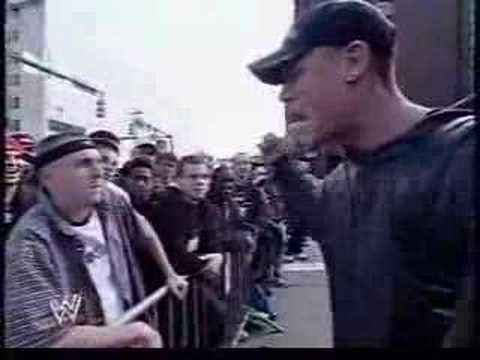 Rap! - John Cena rap battles a fan.