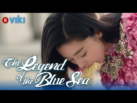 The Legend Of The Blue Sea - Ep 1 | Lee Min Ho Teaches Jun Ji Hyun How To Eat Pasta