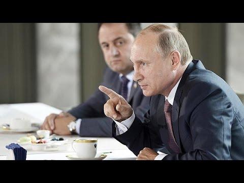 Ο Βλαντιμίρ Πούτιν επισκέπτεται την Κριμαία