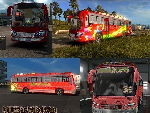 Bus + Bd local Bus skin HD texture bus horn Passenger v1.0